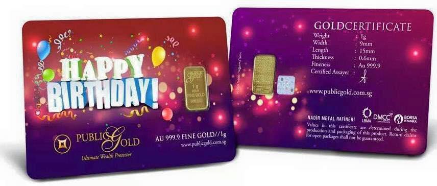 Birthday 1gm 999.9 Gold Bar (2)