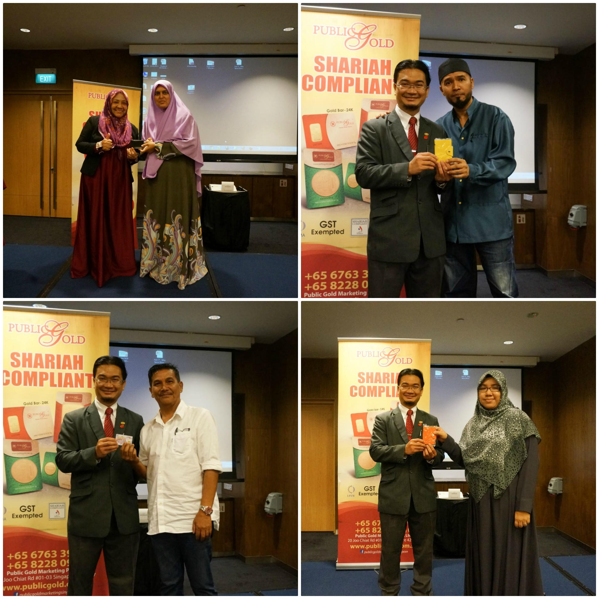 Seminar Gold - Lucky Draw Winner