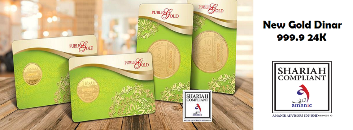 Buy Dinar & Dirham Islamic Coins 999.9 - Singapore